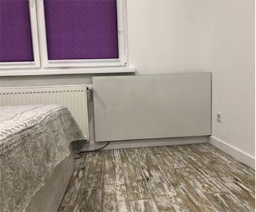 Теплокерамик ТСМ-RА 1000 в «Солнечные апартаменты на Ломоносова, 36» Киев